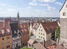 Nuremberg in Bavaria Royalty Free Stock Images