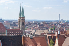 Nuremberg in Bavaria Stock Images