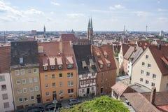 Nuremberg in Bavaria Stock Photography