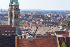 Nuremberg in Bavaria Royalty Free Stock Photos
