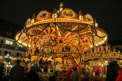 Christmas carousel, Germany  Royalty Free Stock Photo
