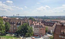 Nuremberg in Beieren royalty-vrije stock afbeeldingen
