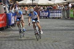 Nuremberg, Bike Race Around the Historical City Stock Image