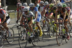Nuremberg, Bike Race Around the Historical City Stock Photos