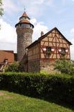 Nuremberg castle Stock Image