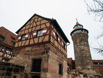 Nuremberg castle Stock Photography