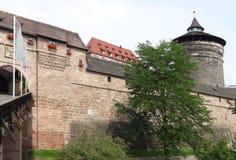 Nuremberg Castle Stock Photo