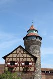 Nuremberg castle in Germany Stock Images
