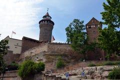 Nuremberg Castle Stock Photography