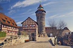 Nuremberg Castle. Royalty Free Stock Image