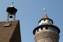 Nuremberg castle, Nuremberg, Germany Royalty Free Stock Photo