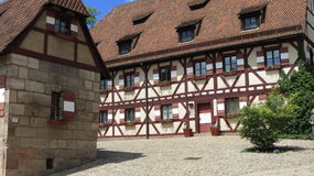 Nuremberg Castle Stock Photos