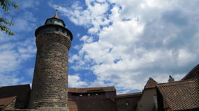 Nuremberg Castle Stock Photo