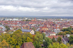 Nuremberg city view, Germany Royalty Free Stock Images