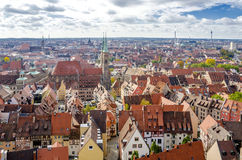 Nuremberg city view, Germany Royalty Free Stock Image
