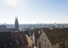 """Nuremberg, Duitsland †""""30 December, 2016: Oude stadsmening Stock Fotografie"""