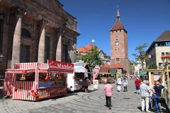 Nuremberg, Duitsland royalty-vrije stock foto