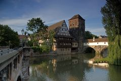 Nuremberg Duitsland Royalty-vrije Stock Afbeelding