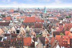 Nuremberg in Duitsland Stock Afbeeldingen
