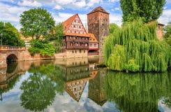 Nuremberg, Duitsland Stock Foto