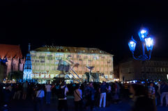Nuremberg, Duitsland - Matrijs Blaue Nacht 2012 Royalty-vrije Stock Foto