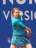 Nuremberg, Duitsland - Mei 23, 2019: De Duitse anna-Helling Friedsam van de tennisspeler bij Euro 250 000 Toernooien van WTA Vers stock fotografie