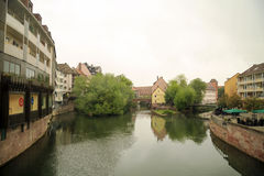 Nuremberg en Alemania Foto de archivo libre de regalías