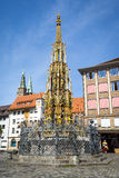 Nuremberg fountain Stock Photo
