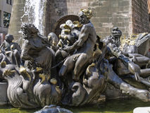 Nuremberg, Franconia, Alemanha Imagem de Stock Royalty Free