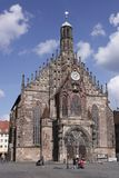 Nuremberg Frauenkirche Stock Photo