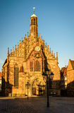 Nuremberg. Frauenkirche (Our Lady's Church)  in Nuremberg, Bavaria, Germany Stock Photo