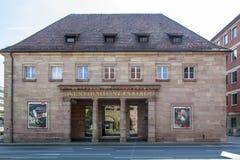 Nuremberg galeria sztuki, Niemcy, 2015 zdjęcie stock