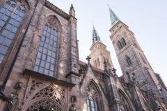 Nuremberg, Germany – December 30, 2016: St. Sebaldus church Stock Image