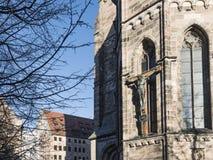 Nuremberg, Germany – December 30, 2016: St. Sebaldus church Stock Photography