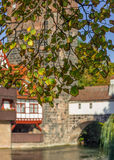 Nuremberg-Germany-beginning autumn-old town Royalty Free Stock Image