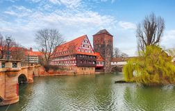 Nuremberg, Germany at day Stock Images