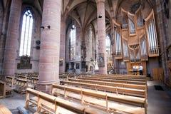 Free Nuremberg, Germany - June 05, 2016: Organ Players At The St. Lorenz Church, Nuremberg Stock Photography - 72851232