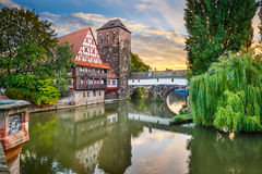 Nuremberg Germany Landmarks Royalty Free Stock Images