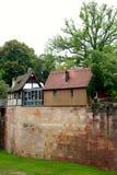 Nuremberg germany old house scenery Royalty Free Stock Image