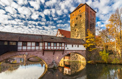 Nuremberg-Germany-old town cityscape royalty free stock images