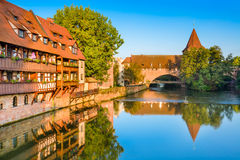 Nuremberg Germany River Royalty Free Stock Photography