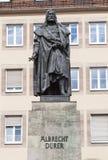 NUREMBERG, GERMANY -  SEPTEMBER 04, 2015: Photo of Monument to Albrecht Dürer. Stock Photography