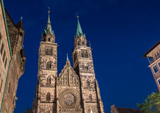 Nuremberg-Germany-St.Lawrence church (Lorenzkirche) Royalty Free Stock Image