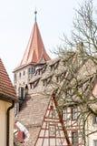 Nuremberg historique Photos libres de droits