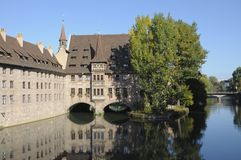 Nuremberg House Stock Photography