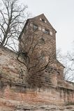 The Nuremberg Imperial Castle Keiserburg from Holy Roman Empire, Nuremberg, Germany. The Nuremberg Imperial Castle Keiserburg from Holy Roman Empire - one of the stock image