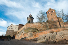 Nuremberg Imperial Castle Stock Images