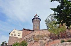Nuremberg kasztel fotografia royalty free