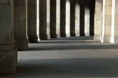 Nuremberg Kongresshalle Royalty-vrije Stock Foto