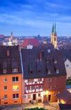 Nuremberg (Nürnberg), Duitsland. royalty-vrije stock afbeeldingen